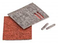 Kluzné pásky k nízké podlahové hubici Twinner