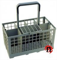 Košík na příbory do myčky 40 i 60 cm světle šedý UNI