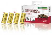 Mucholapka s přírodním lepidlem Windhager 4ks Pack