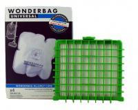 Sáčky + H.E.P.A. Filtr ROWENTA Silence Force, Extreme, Compact 4+1 ks, sáčky Wonderbag Endura + HEPA HF13