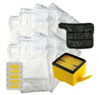 Sada sáčků a filtrů pro VORWERK Kobold VK 135 a VK 136, V3 MAX sáčky 2x, HF15, M5 a 5 vůní Les zdarma