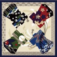 Japonský šátek Furoshiki 50 x 50 cm Kimono