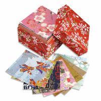 Japonský origami papír Washi v krabičce, 200 listů