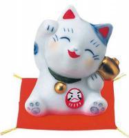 Japonská kočka štěstí Maneki Neko Daruma 5,5cm