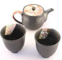 Japonský čajový set pro dva Yuzen