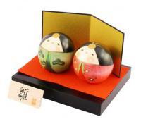 Japonské panenky Kokeshi Shiawase Hina (Den dívek) 7 cm