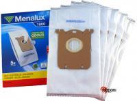 Sáčky do vysavače MENALUX 1800, syntetické 5ks a filtr (S-Bag pro Electrolux, AEG, Philips)