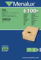 Sáčky do vysavače MENALUX 6100P papírové, 5ks a filtr
