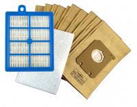 Sáčky do vysavače ELECTROLUX EUO93RR a HEPA Filtr 10+(1)ks