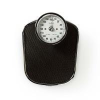 Analogová osobní váha v retro designu Nedis PESC110ABK max. 160 kg