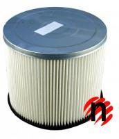 Skládaný filtr se spodním dnem pro vysavače EINHELL (BT, RT, TH, TE, BVC) vyztužený