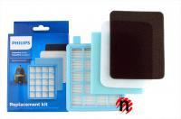Sada filtrů s HEPA filtrem do vysavače PHILIPS FC 8470 až 8479 PowerPro Compact
