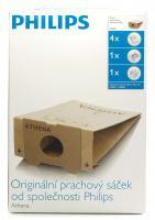 Originální sáčky Philips HR6947 pro Athena, Duathlon, Triathlon (4ks + 2 filtry)