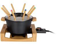 Fondue set Princess 17 3025 Pure Black, 8 osob