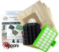 10 sáčků + 1 hygienický filtr + 1 vstupní filtr v setu ROWENTA ZR007001 pro Power Space