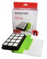 Sada filtrů SVX 022HF pro Sencor SVC 9000BK