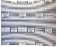 Tukový filtr do digestoře s ukazatelem nasycenosti 50 x 60 cm (2ks) Worwo F03