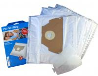 Sáčky do vysavače WORWO ELMB02K mikrovlákno 4ks Perfect Bag