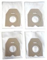 Sáčky do vysavače Worwo PMB02K mikrovlákno 4ks a filtr