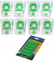 Sáčky do vysavače ZELMER Cobra II, Orion, Syrius, Twist, Twister - MAX pack 8ks + 2 filtry + 5 vůní Les