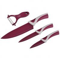 Set kuchyňských nožů Xavax - 3 x nůž, 1 x škrabka na zeleninu