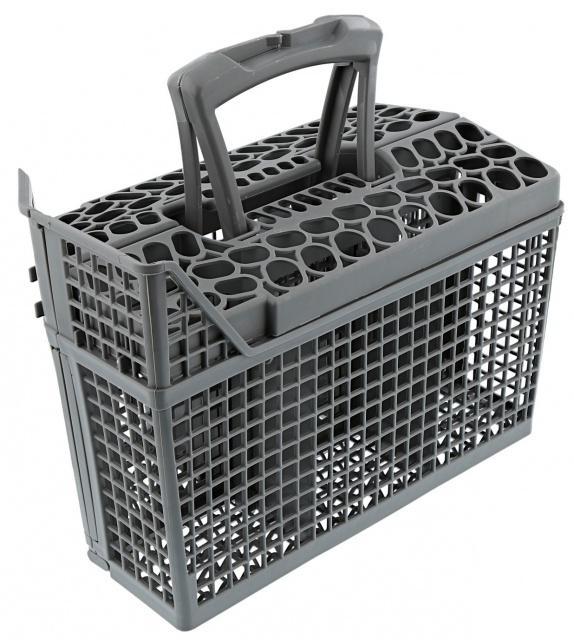 Šedý koš na příbory do myčky nádobí 6 oddílů AEG Electrolux