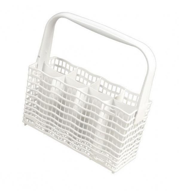 Koš na příbory do myčky nádobí bílý Electrolux SLIMLINE délka 23cm, 8 přihrádek Electrolux