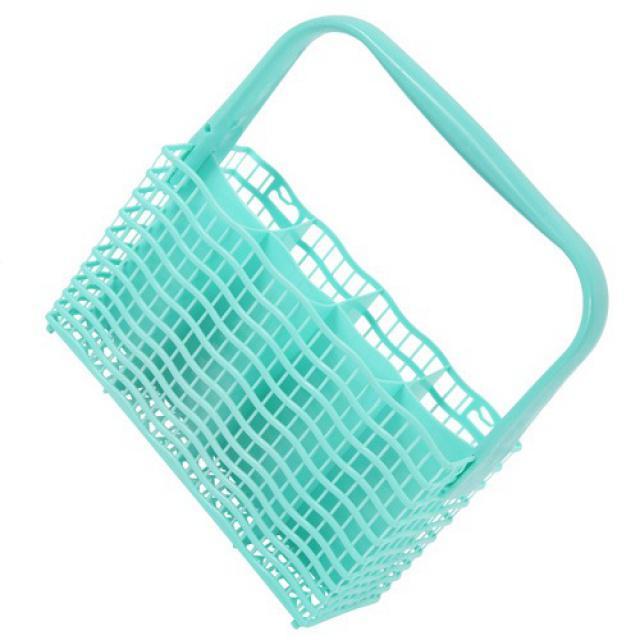 Košík na příbory do myčky SLIMLINE úzký zeleno-modrý Electrolux