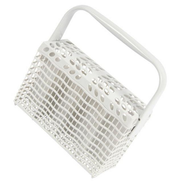 Koš na příbory do myčky nádobí bílý Electrolux, Zanussi - 4 díly s krytem Electrolux