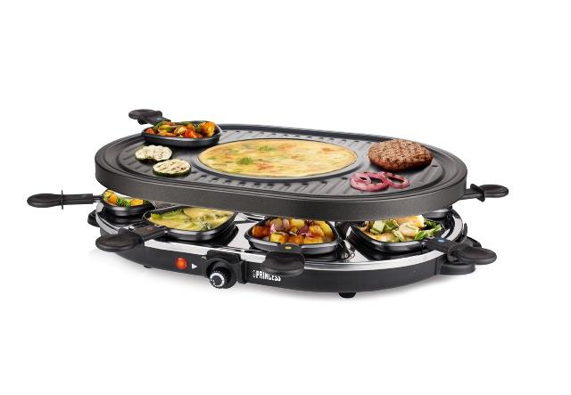 Raclette gril Princess 16 2700 Gourmet Princess