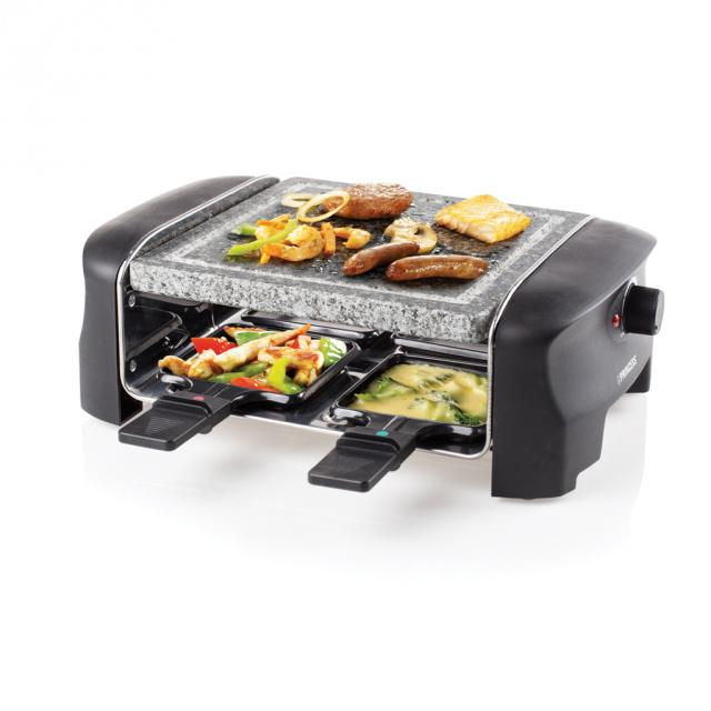 Raclette gril Princess 16 2810 4 Stone Grill Party Princess