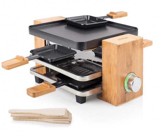 Raclette gril Princess 16 2900 Pure 4 Bamboo Princess