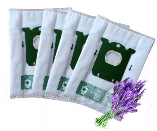 Textilní voňavé sáčky pro PHILIPS FC 9060...FC 9069 Jewel vůně Levandule 4ks PHILIPS