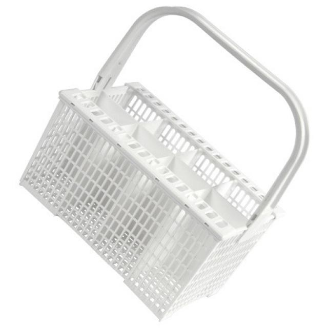 Bílý koš na příbor do myčky nádobí Zanussi 8 přihrádek Electrolux