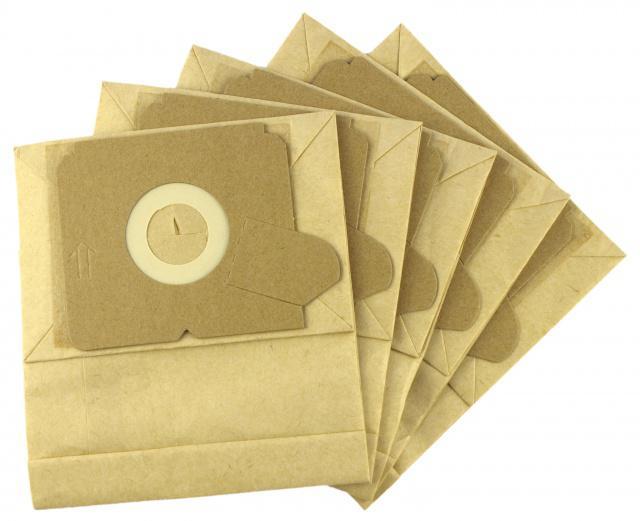 Sáčky do vysavače TESCO - VCBD 1611 papírové, 5ks Jolly