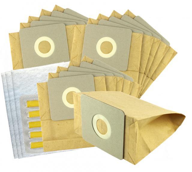 Sáčky do vysavače TESCO - VC 010 15ks papírové Jolly
