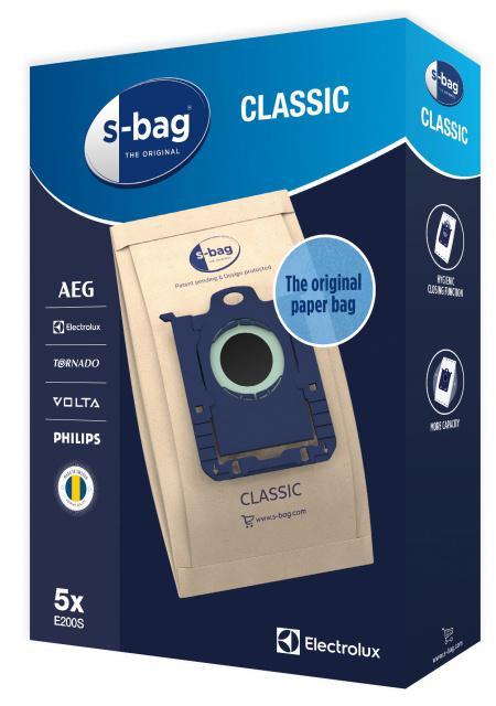 PHILIPS Sáčky s-bag Electrolux E200 Classic pro PHILIPS FC 8400 až FC8499 City Line 4ks