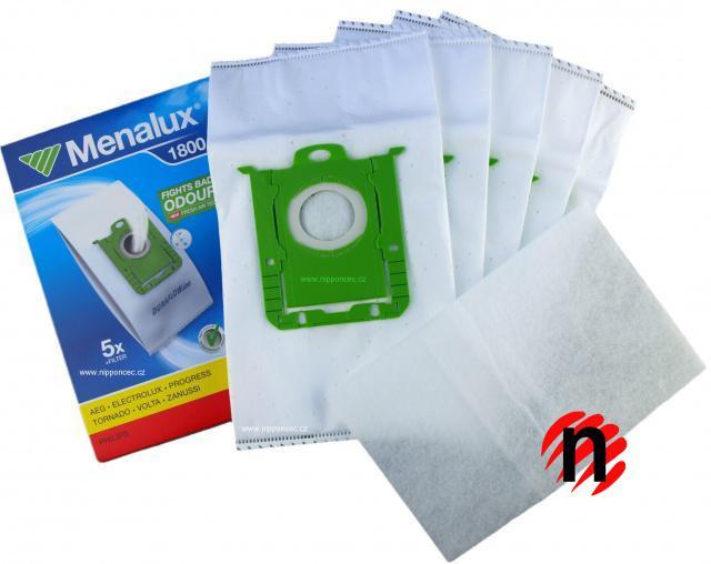 Sáčky Menalux 1800 5ks syntetické do vysavače PHILIPS FC 9060...FC 9069 Jewel sBag PHILIPS