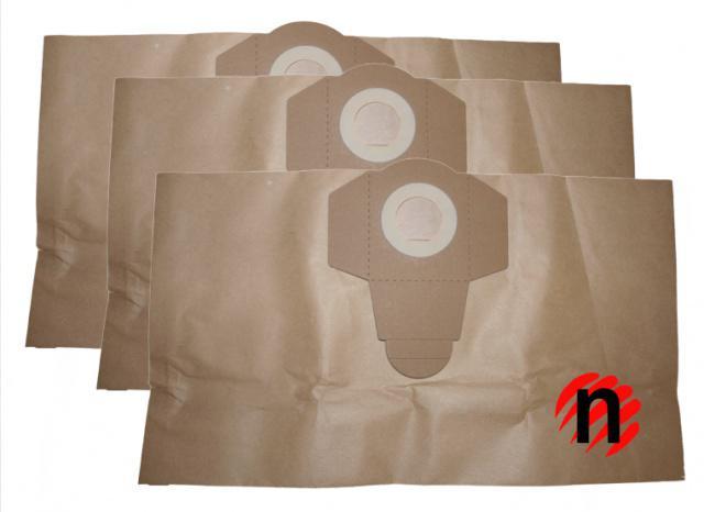 Papírové sáčky do vysavače PARKSIDE PNTS 30/4 3ks PARKSIDE