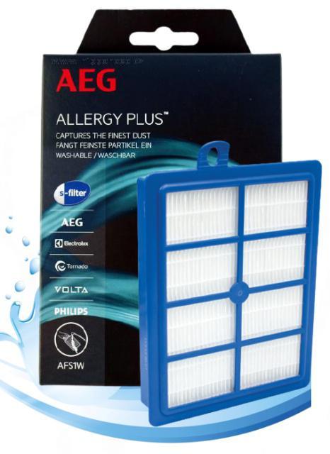 AFS1W omývatelný Allergy Plus® S-Filter® pro vysavač ELECTROLUX - EL 4100, EL 4200 AEG