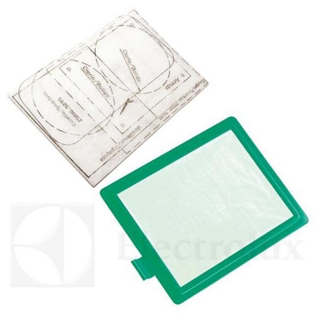 Electrolux EF55 Filtr a Mikrofiltr k vysavači AEG Viva Quickstop AVQ 2100 až 2190 originální AEG