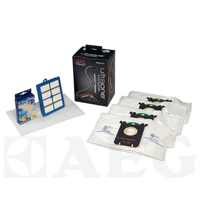 ELECTROLUX UltraOne SBAG Kit, 4ks Sbag, hepa H13 omyvatelný, filtr a vůně Electrolux