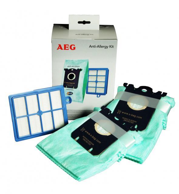 Originální sáčky ELECTROLUX S-Bag Anti-Allergy VCAK1 – HEPA filtr H13 a sáčky SBAG 8+1 ks Electrolux