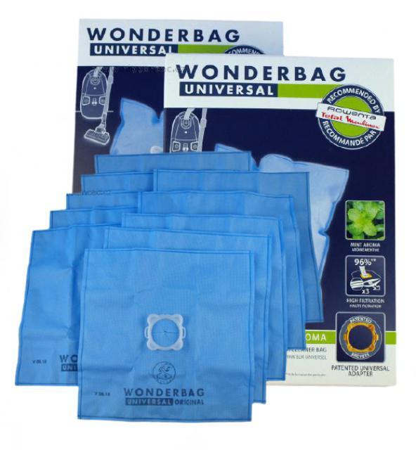 Originální sáčky ROWENTA Wonderbag Universal Mint Aroma WB415140 10ks