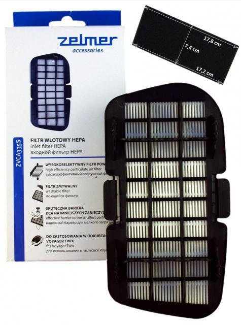 HEPA filtr ZELMER Voyager Twix 601201.4070/ZVCA335S vstupní Zelmer