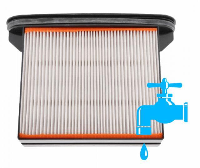Fotografie Alternativní plochý filtr pro vysavač ROTHENBERGER - Rodio Dry Cleaner 1200 AJS