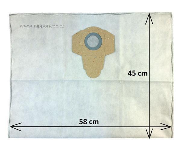 ASBag Sáčky do vysavače PARKSIDE PNTS a dalších (45 x 58 cm) 3ks Alafil