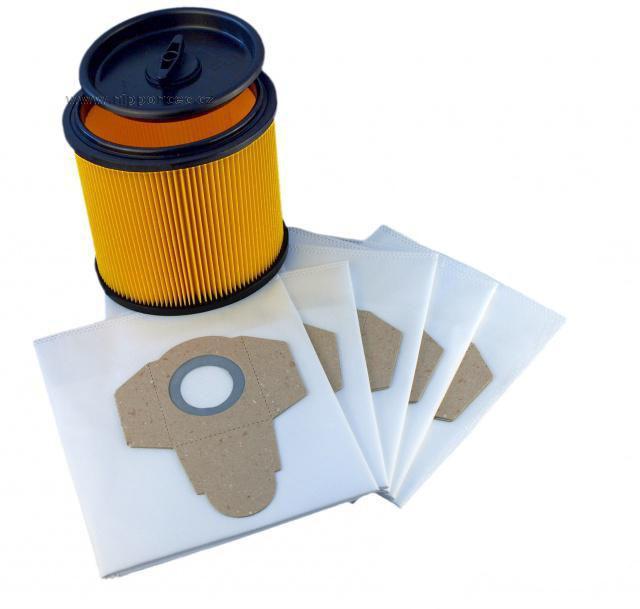 Sáčky + filtr 91092030 do vysavače PARKSIDE, 6 + 1 ks Alafil