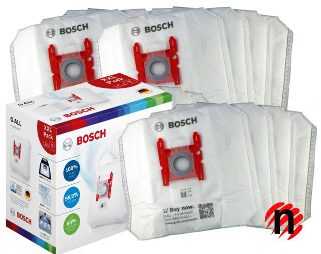 SIEMENS XXL sáčky Bosch G ALL 16ks pro SIEMENS Q 4 Silence Power VSQ4G 2130, 2131