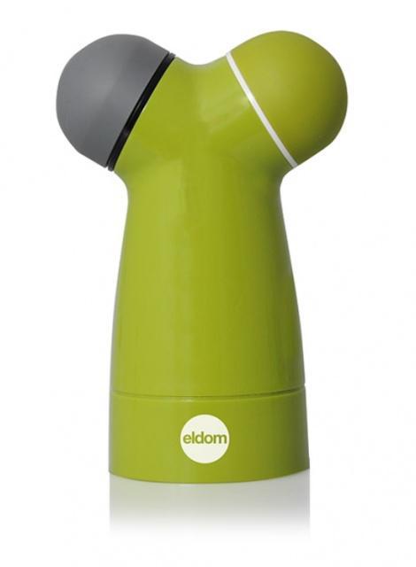 Ruční mlýnek na sůl/pepř Eldom MP18, zelený Eldom